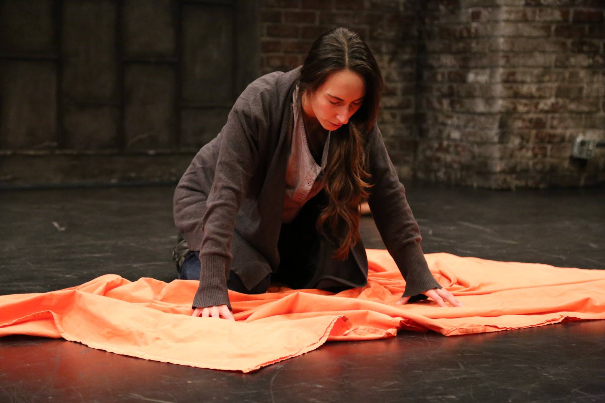 THE MOMENT BEFORE IT ALL WENT WRONG - Diana Benigno as Viveka<br>Directed by Sam Buggeln - photo by Esther Ko