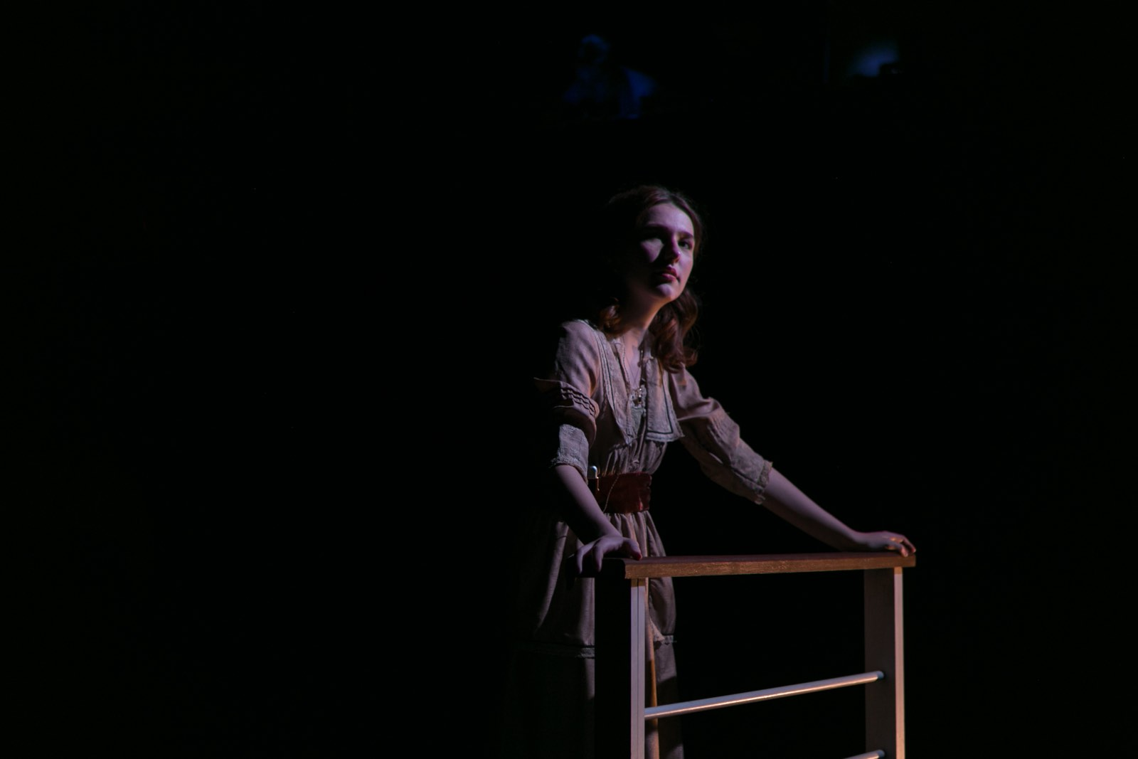 SILENT SKY by Lauren Gunderson at Stella Adler Conservatory - Elsa Kegelman - photo by Joe Loeper